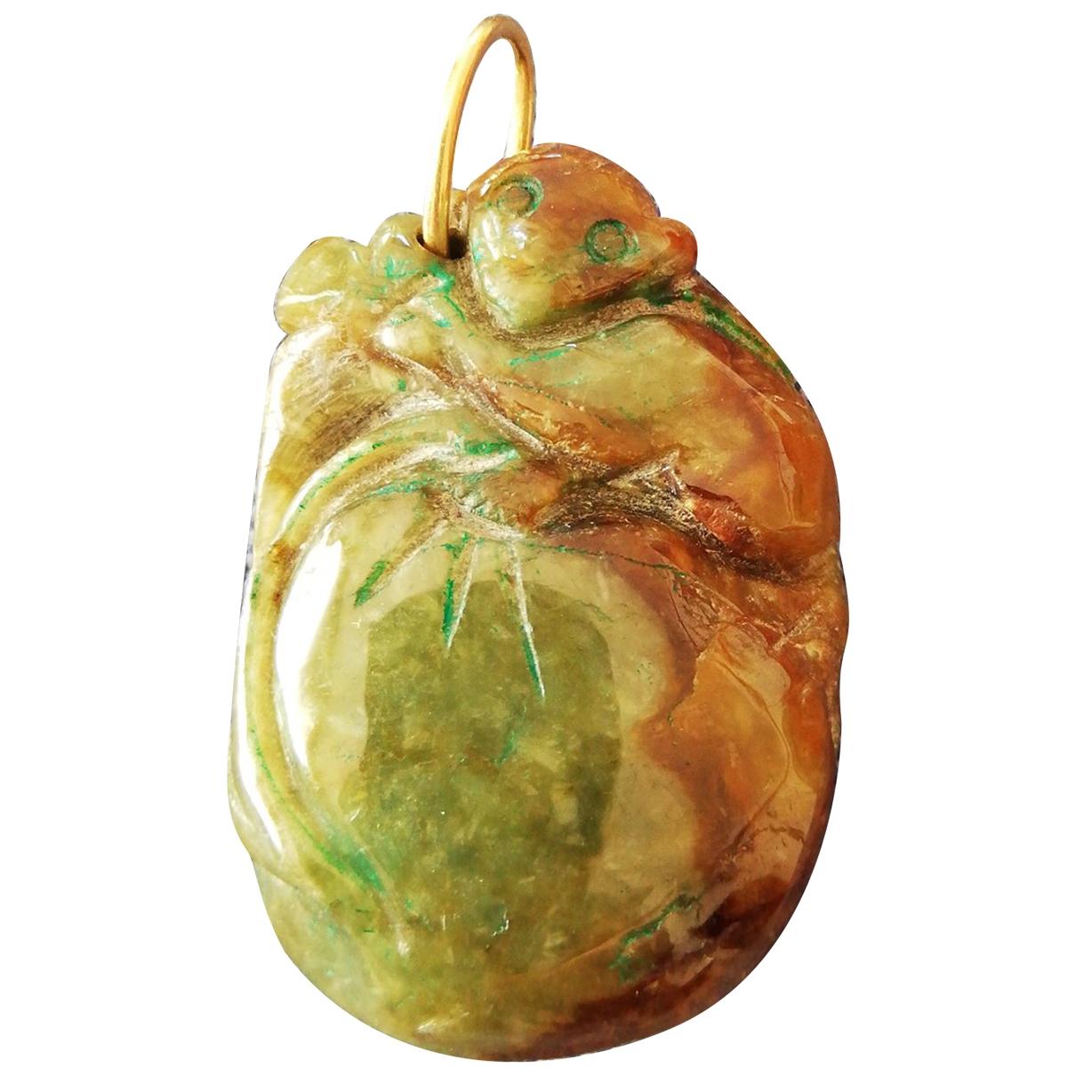 - Pendentif   pour femme en jade - vert