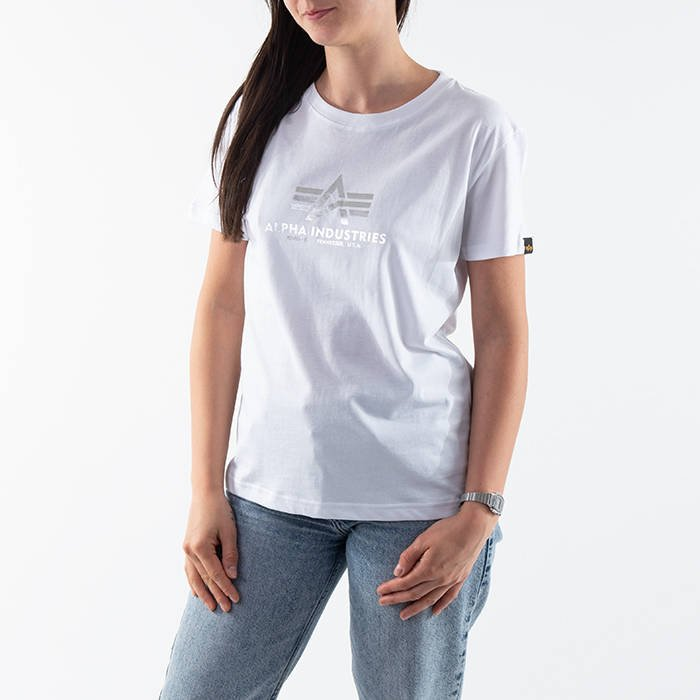 Alpha Industries New Basic T Wmn Foil Print 196051FP 532