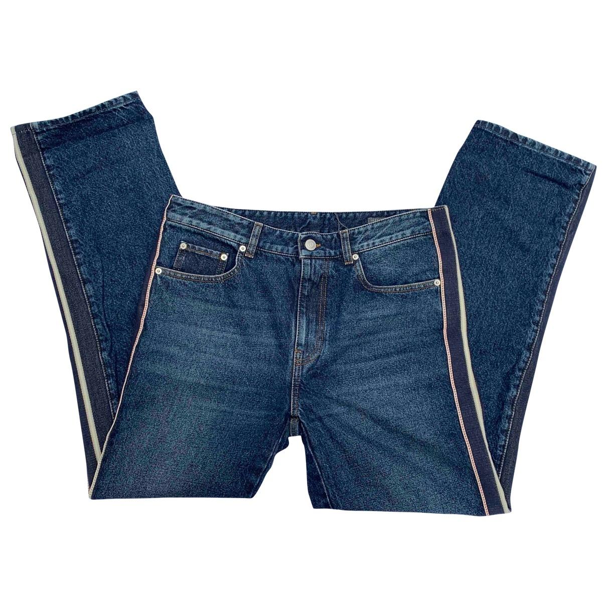 Alexander Mcqueen \N Blue Denim - Jeans Jeans for Women 38 FR