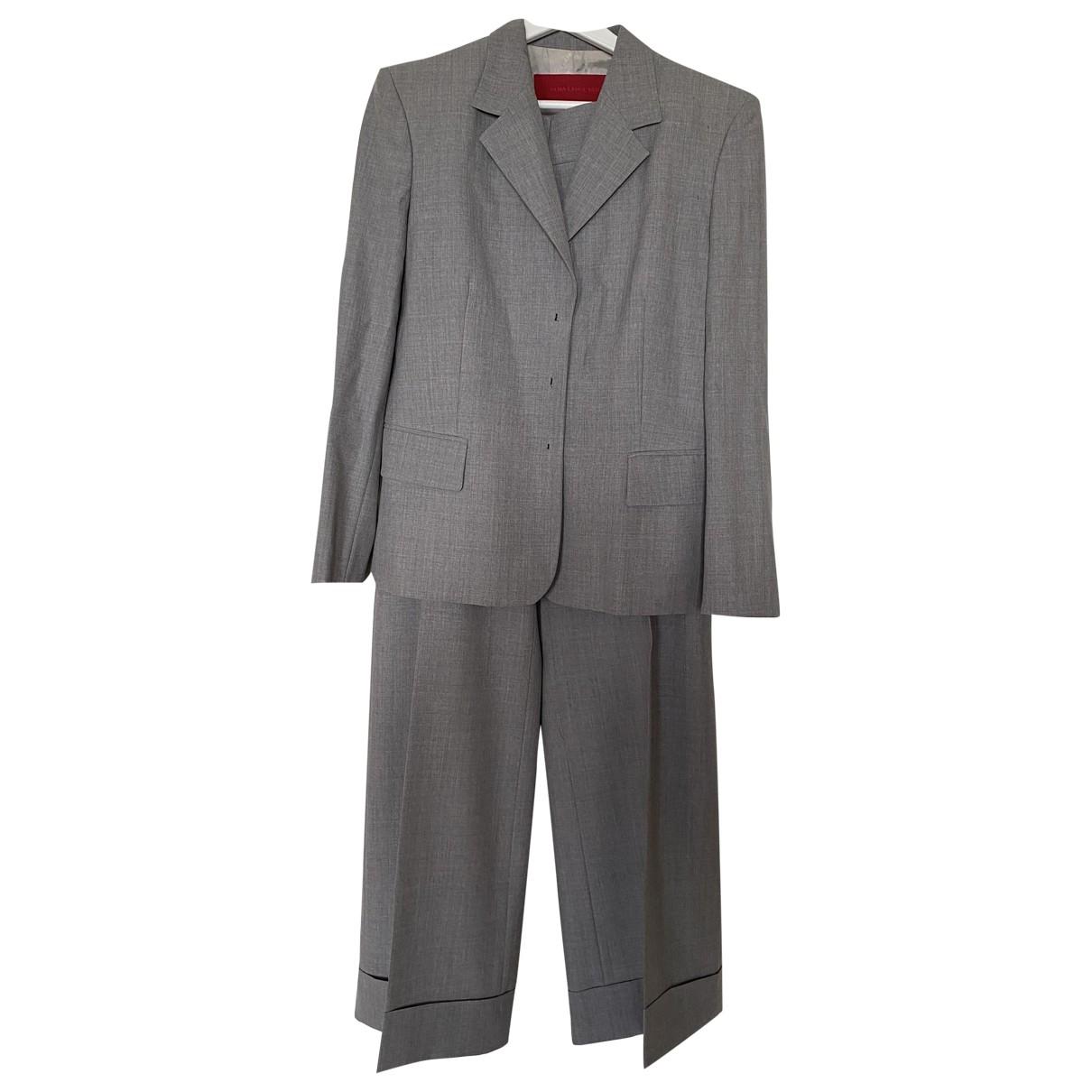 Rena Lange - Veste   pour femme en laine - gris