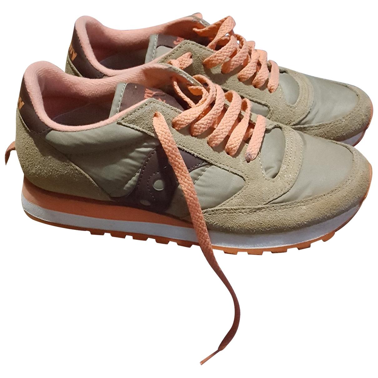Saucony \N Sneakers in Leinen