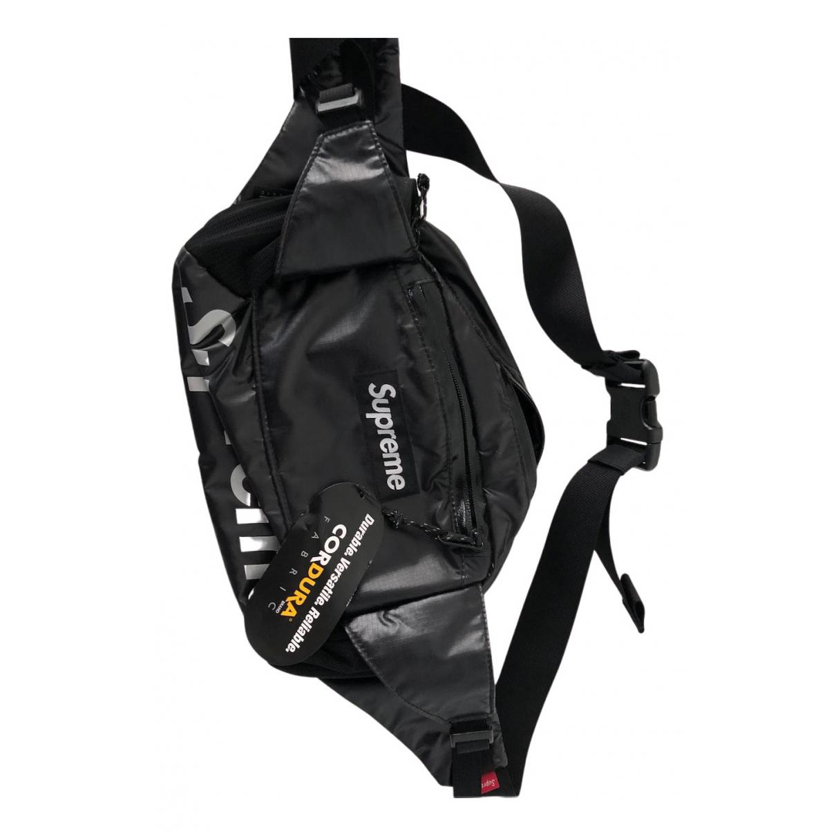 Supreme N Black Small bag, wallet & cases for Men N