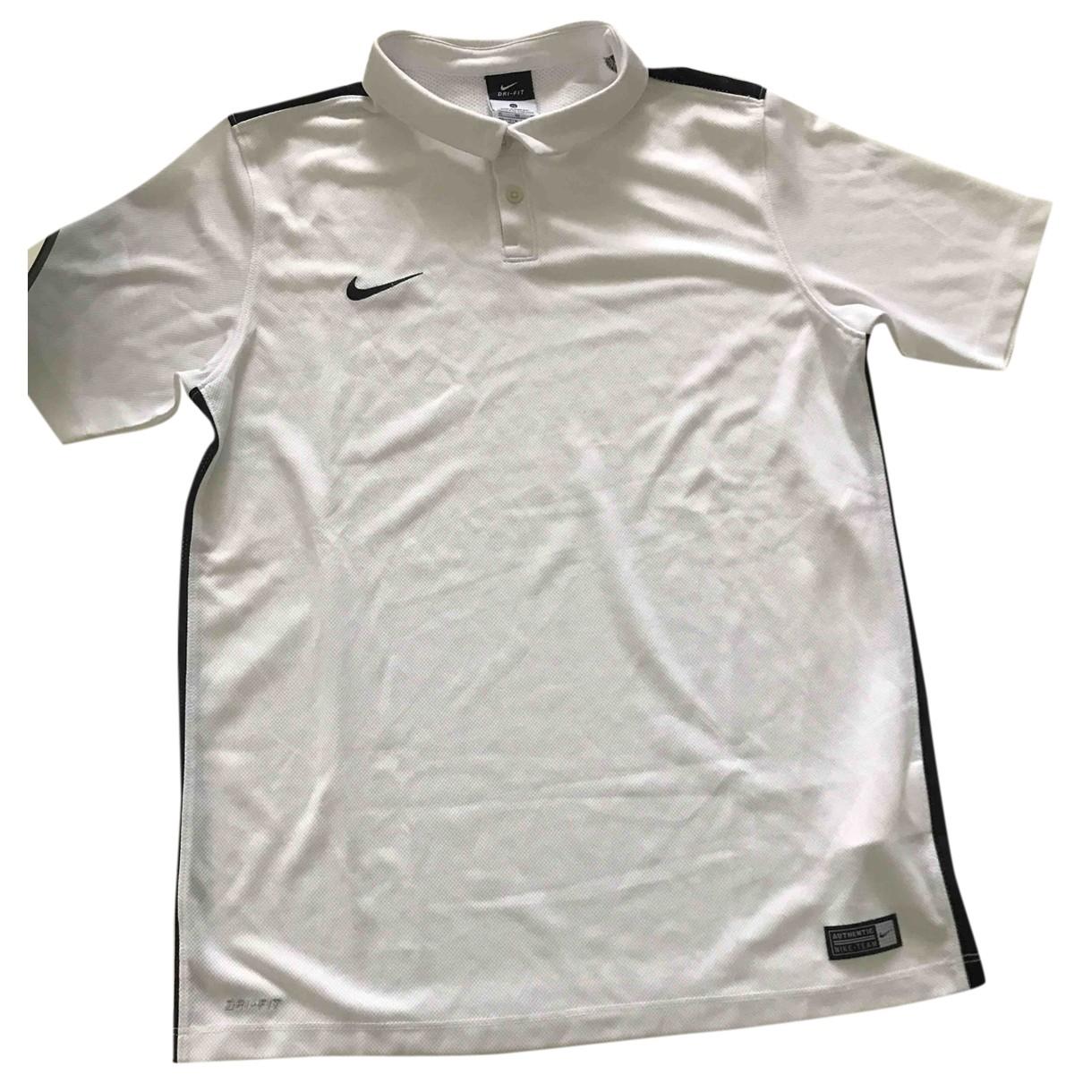 Nike - Top   pour enfant - blanc