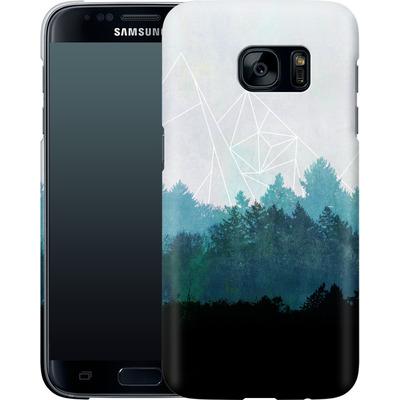 Samsung Galaxy S7 Smartphone Huelle - Woods Abstract von Mareike Bohmer