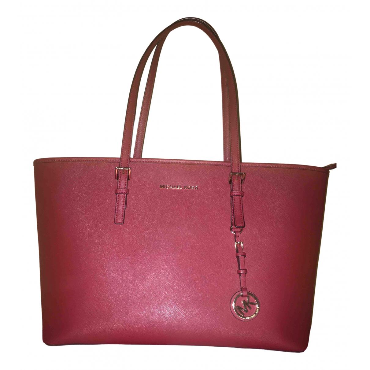 Michael Kors \N Burgundy Leather handbag for Women \N