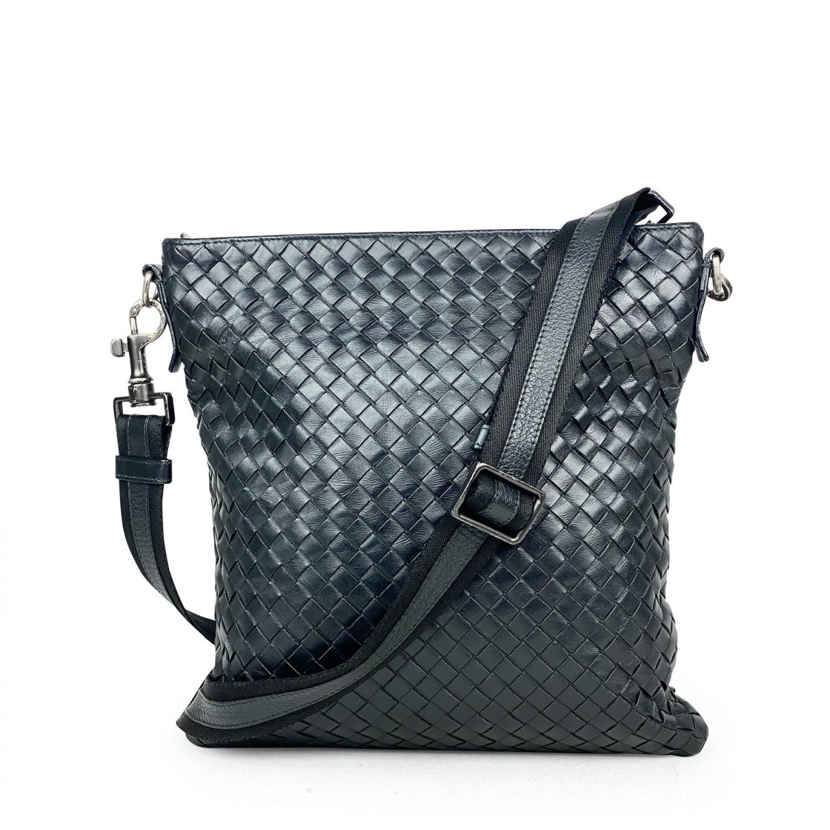 Bottega Veneta \N Black Leather bag for Men \N
