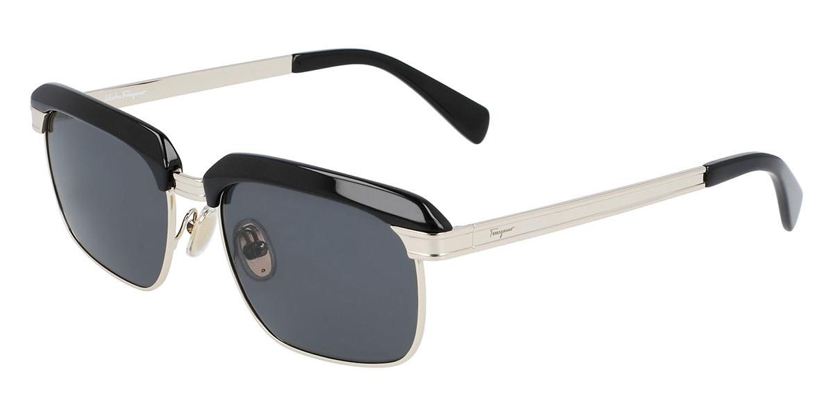 Salvatore Ferragamo SF263S 017 Men's Sunglasses Black Size 55