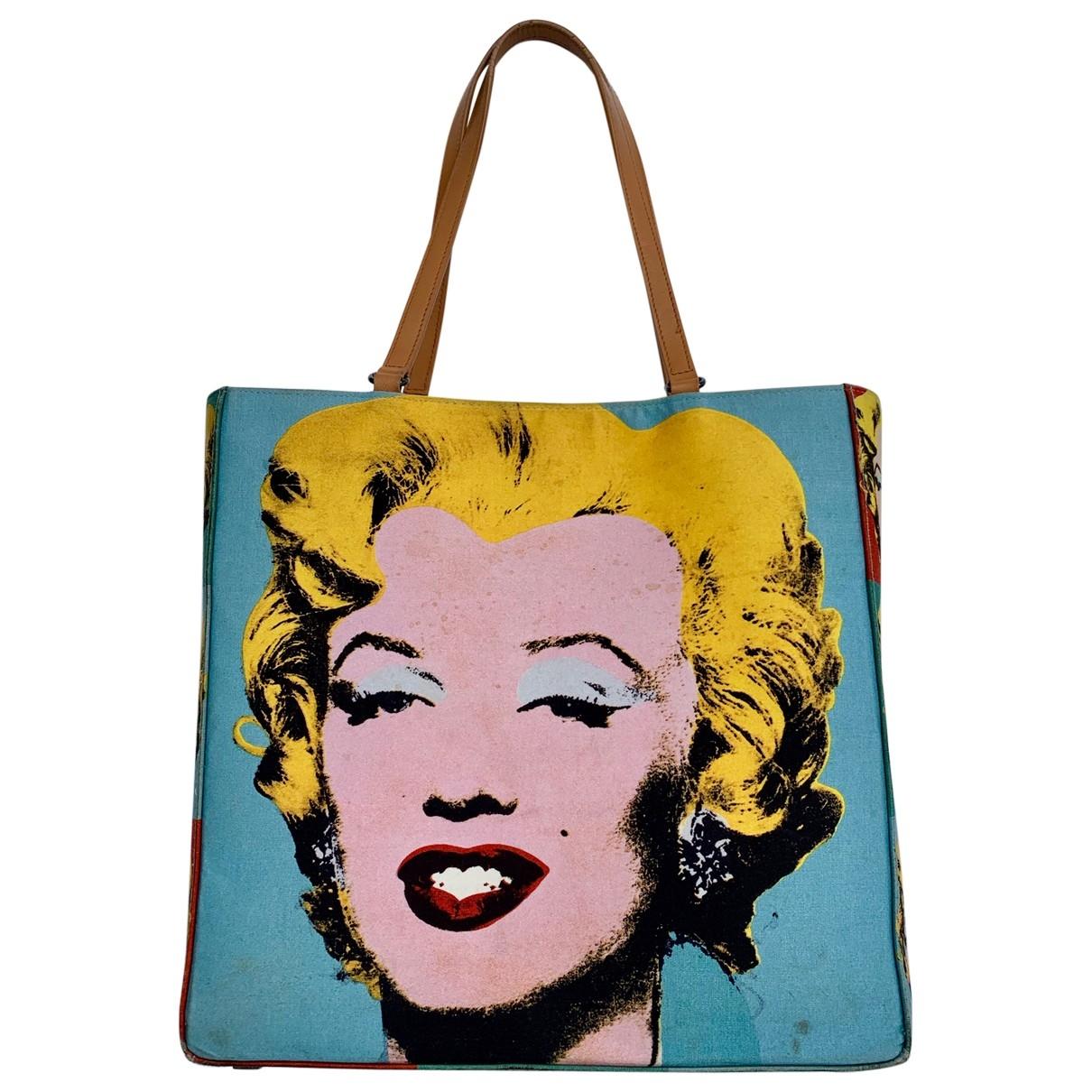 Philip Treacy \N Handtasche in Leinen