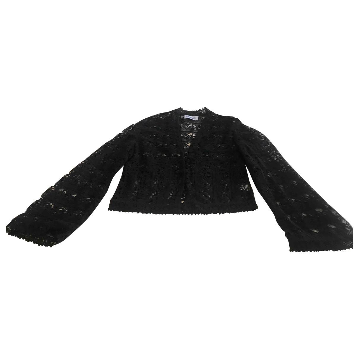 Rouje - Pull Spring Summer 2019 pour femme en coton - noir