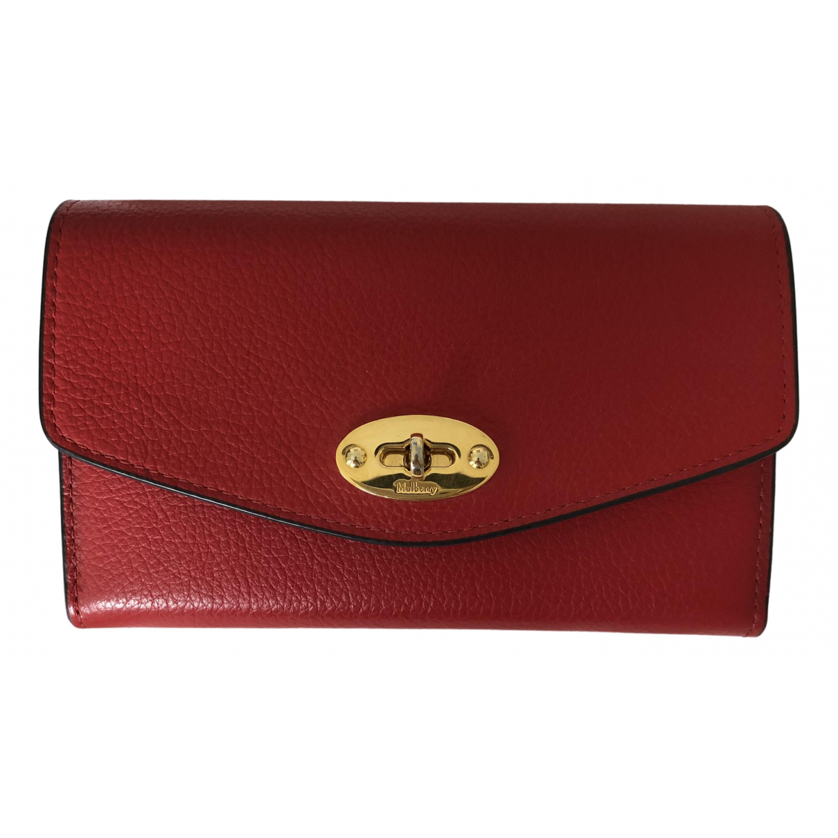 Mulberry \N Red Leather wallet for Women \N