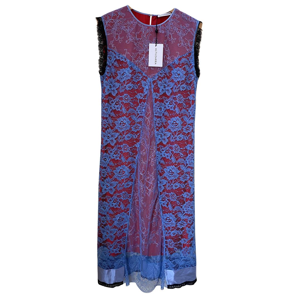 Altuzarra \N Kleid in  Blau Spitze