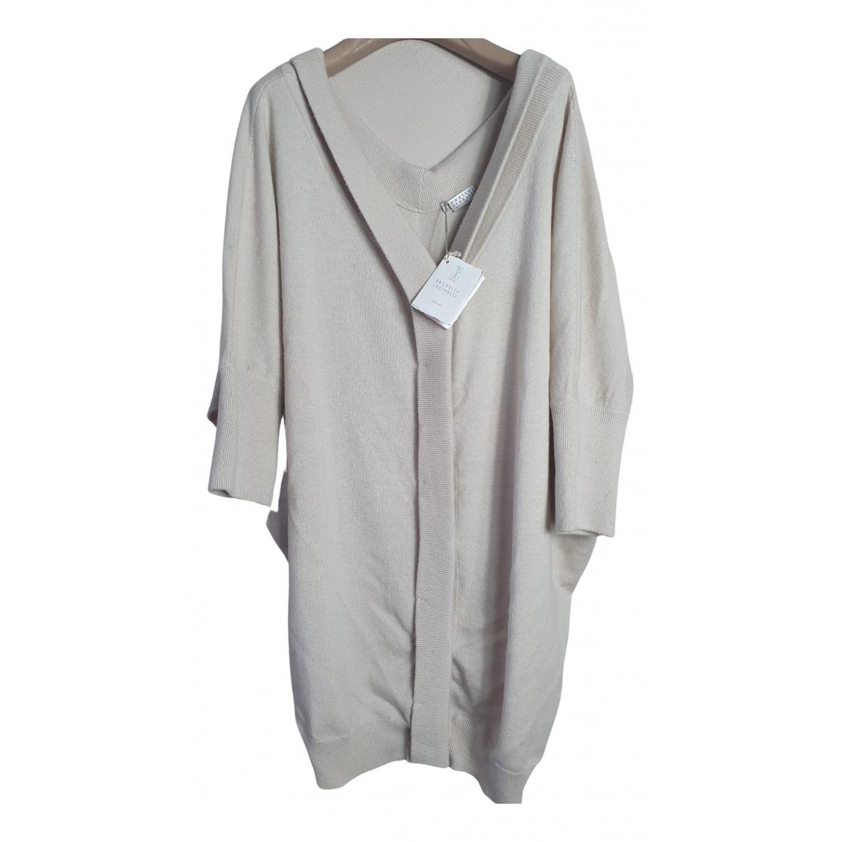 Brunello Cucinelli \N Beige Cashmere Knitwear for Women M International
