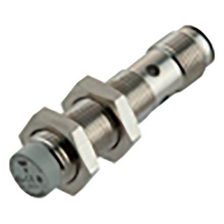 Carlo Gavazzi M12 x 1 Inductive Proximity Sensor - Barrel, PNP/NPN-NO/NC Output, 8 mm Detection, IP67, IO-Link, M12 - 4