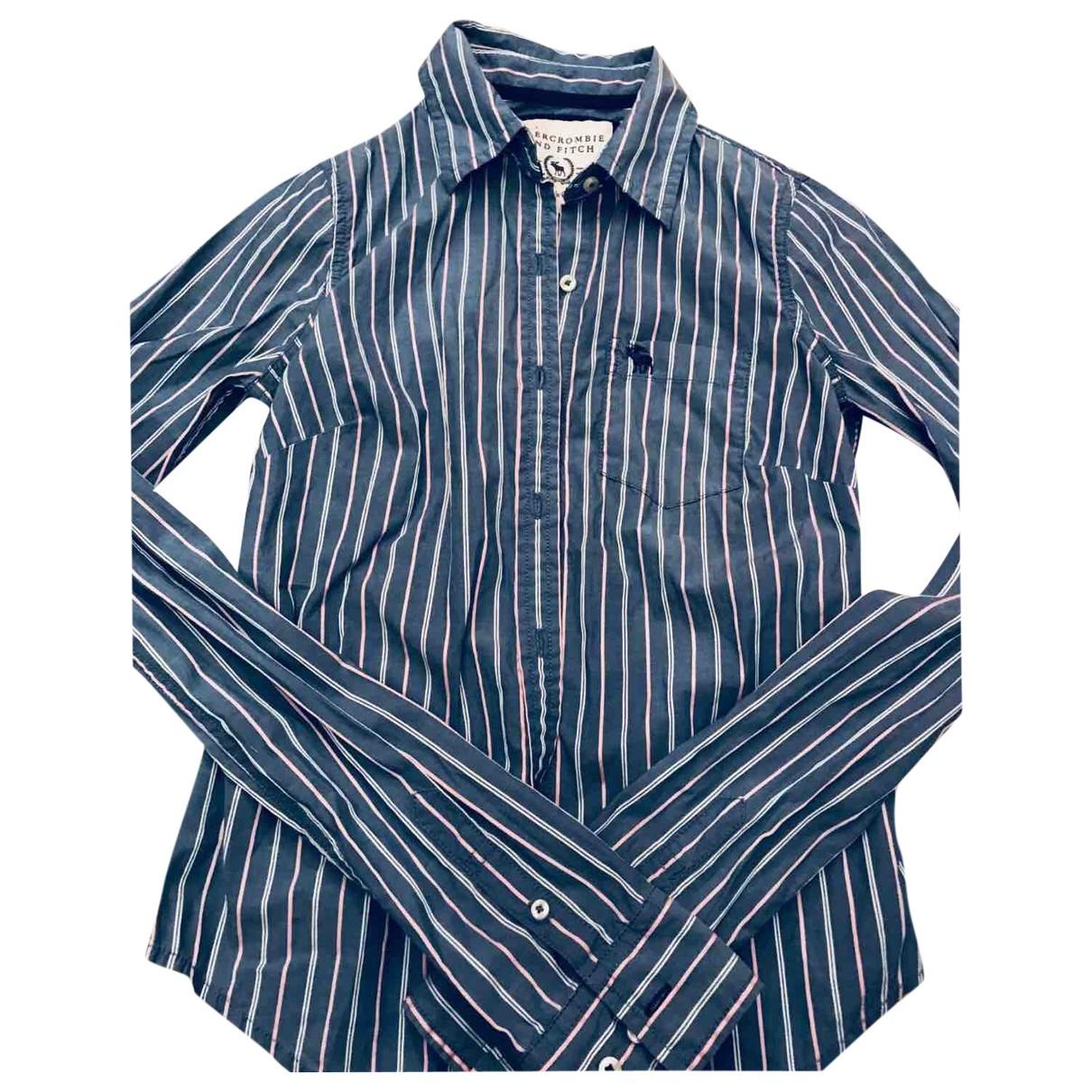 Abercrombie & Fitch \N Top in  Blau Baumwolle
