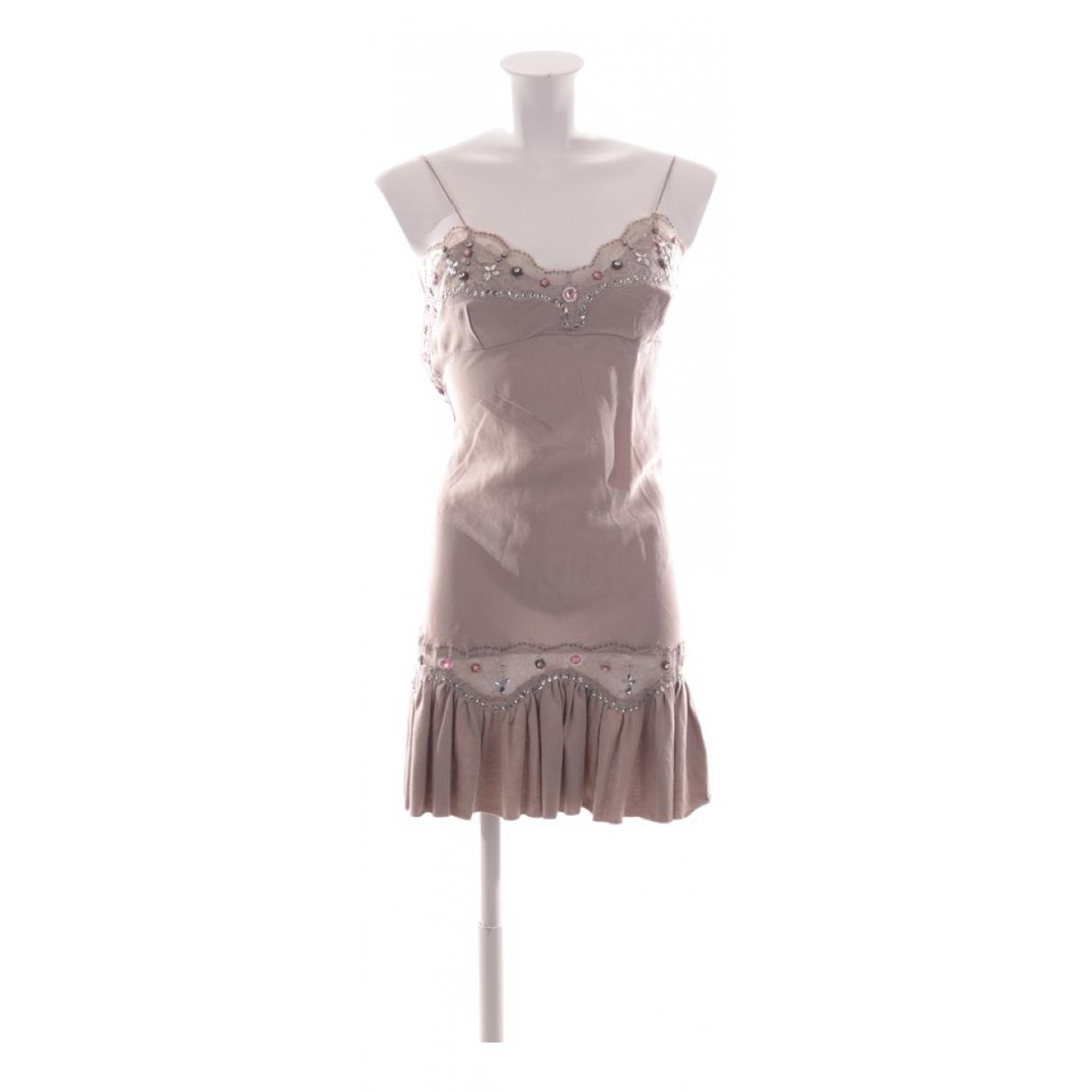 Manoush \N Grey Silk dress for Women S International