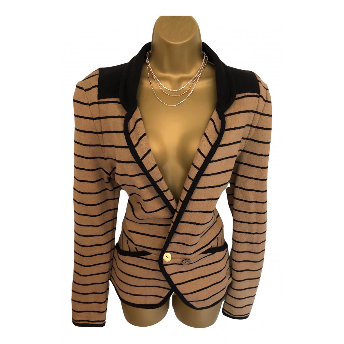 Whistles N Beige Cotton Knitwear for Women 40 FR