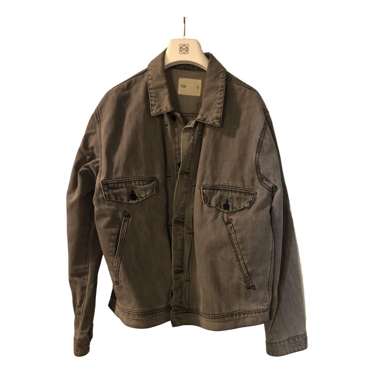 Folk \N Grey Denim - Jeans jacket  for Men 5 0 - 6