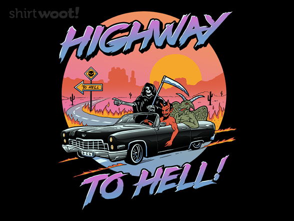 Highway To Hell T Shirt