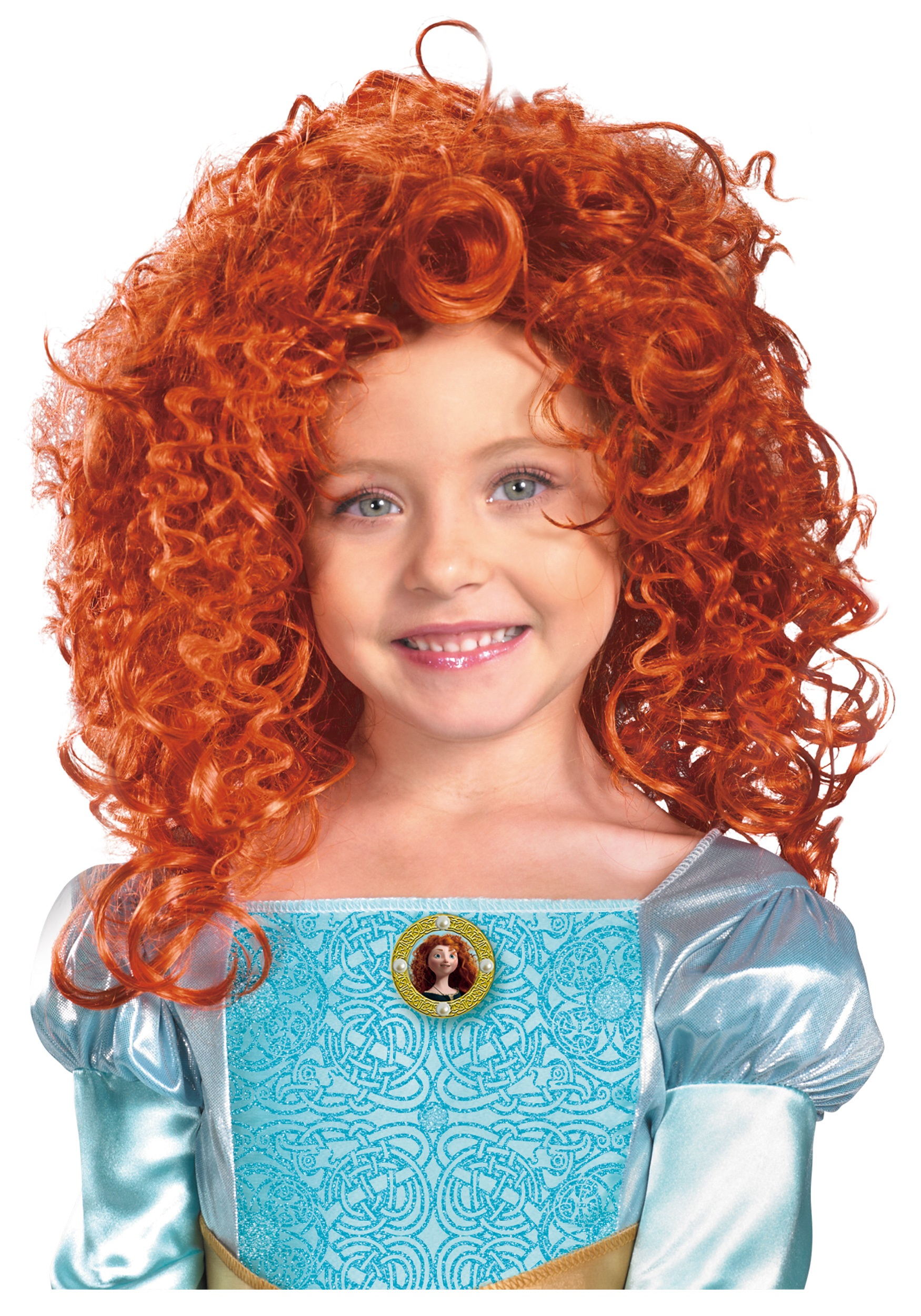 Child Merida Wig