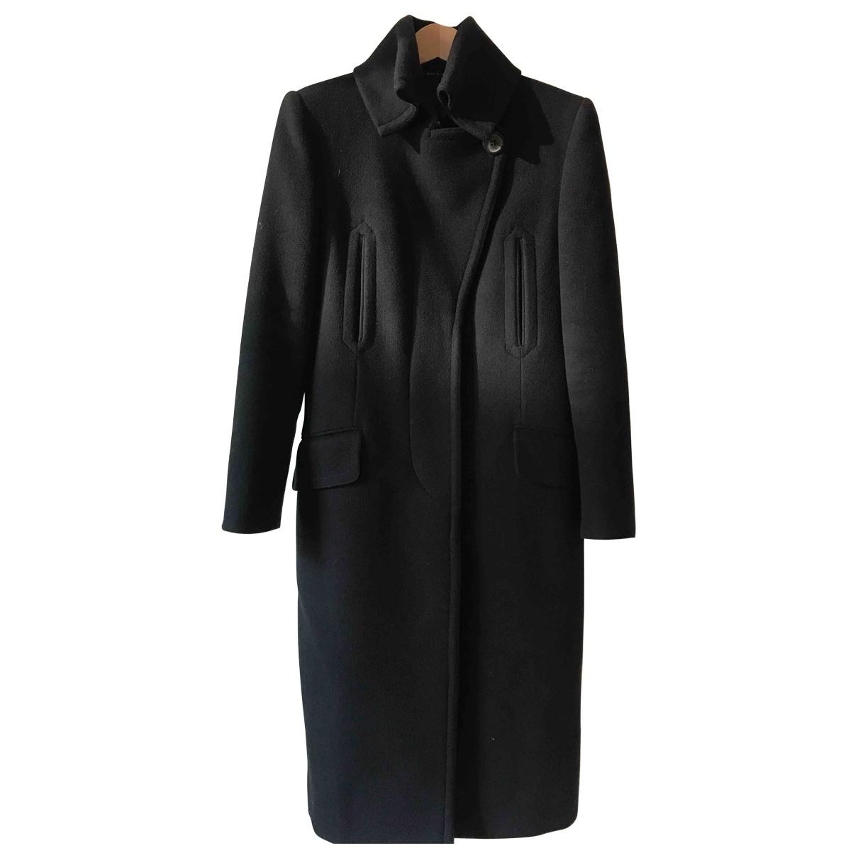 Gucci \N Black Wool coat for Women 40 IT