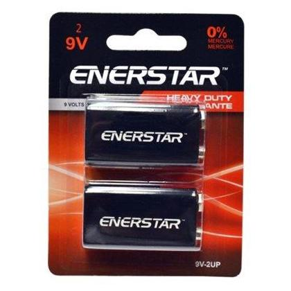 ENERSTAR 9V ULTRA POWER BATTERY 2/PACK