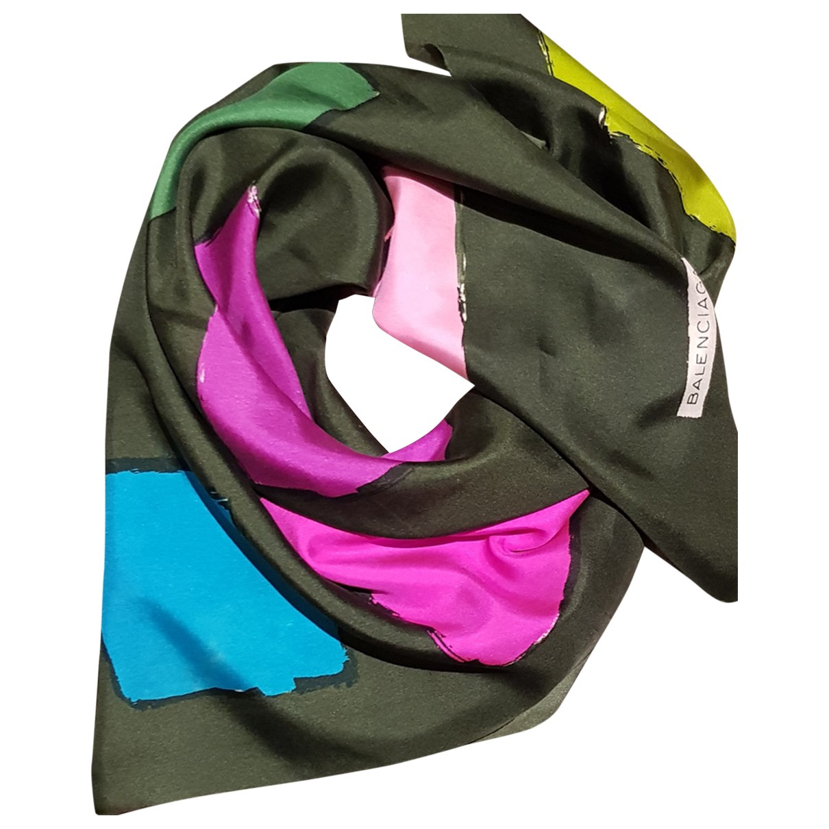 Balenciaga \N Schal in  Bunt Seide