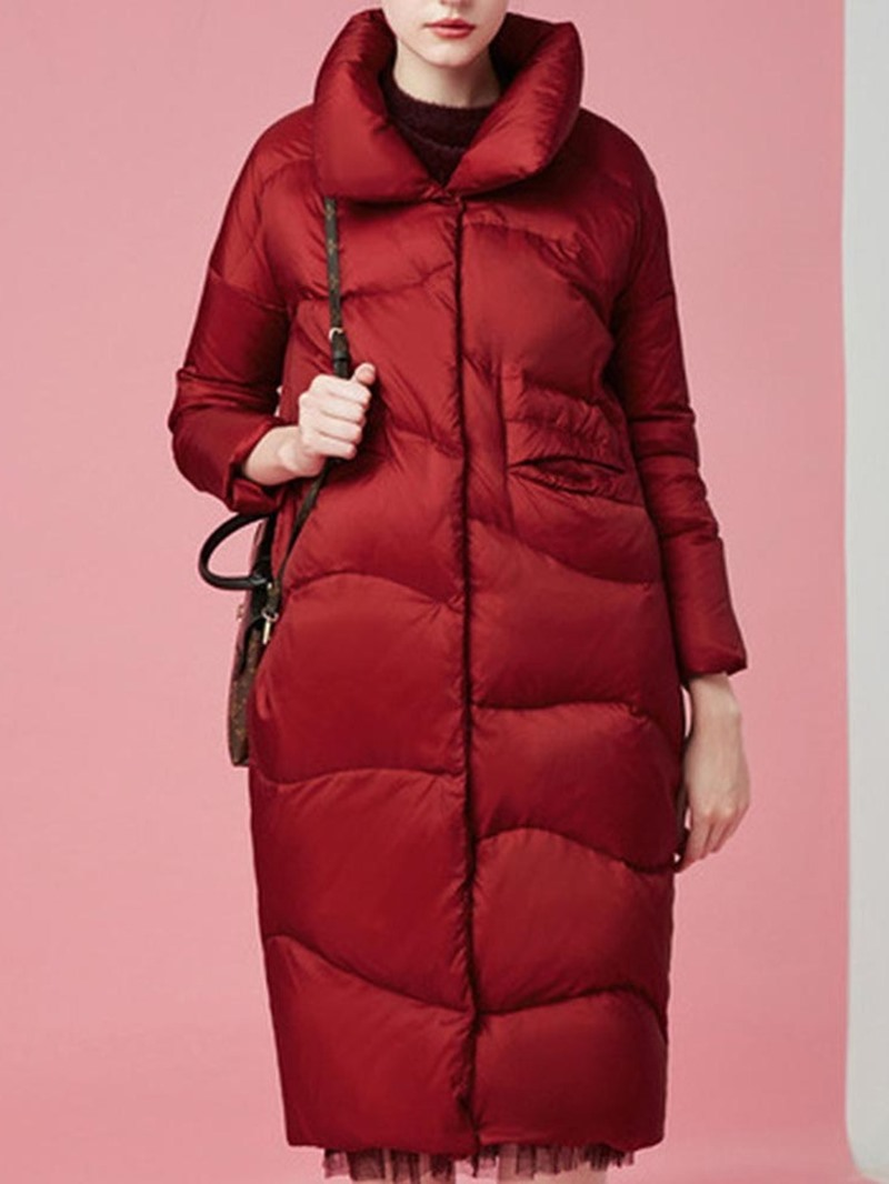 Ericdress Loose Thick Long Cotton Padded Women's Jacket