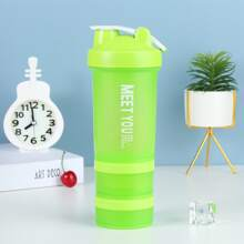 1pc 3 Layer Sporty Water Bottle