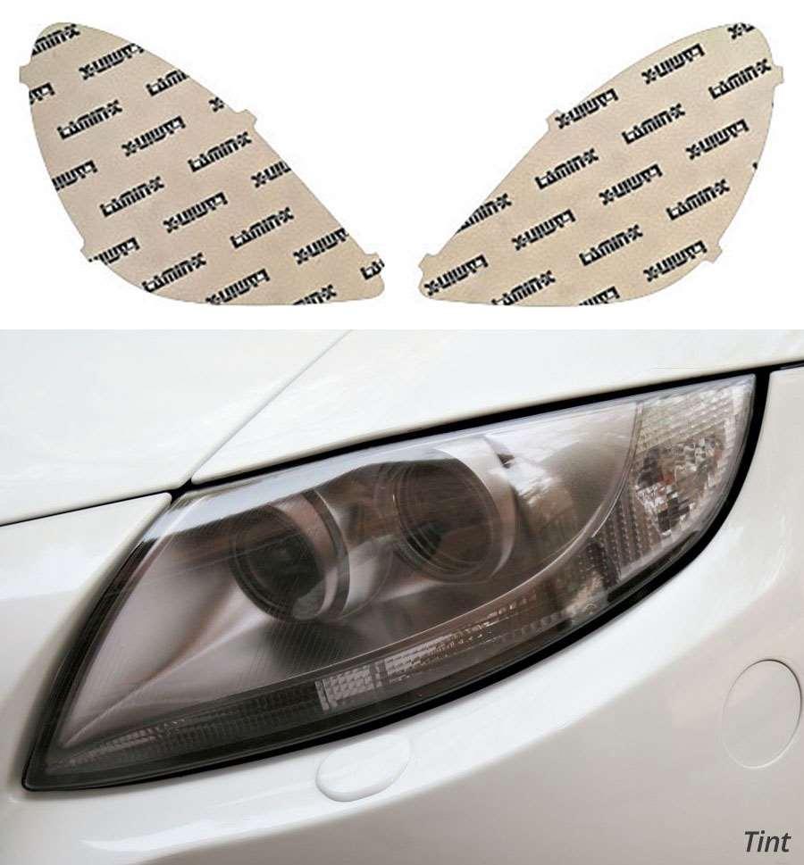 Mercedes SLK-Class 09-11 Tint Headlight Covers Lamin-X MB033T