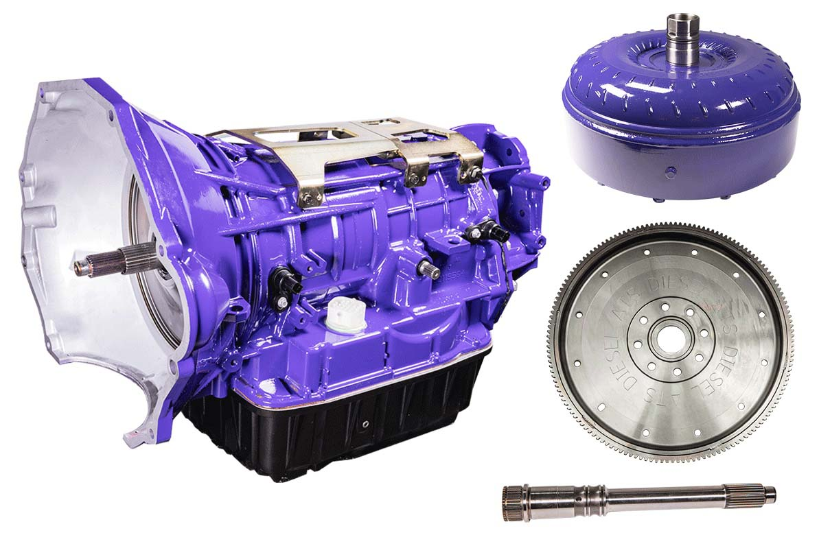 Stage 3 Transmission Package 2007.5-2011 Dodge 4WD 68RFE W/Authorized Tuning ATS Diesel 3098362326