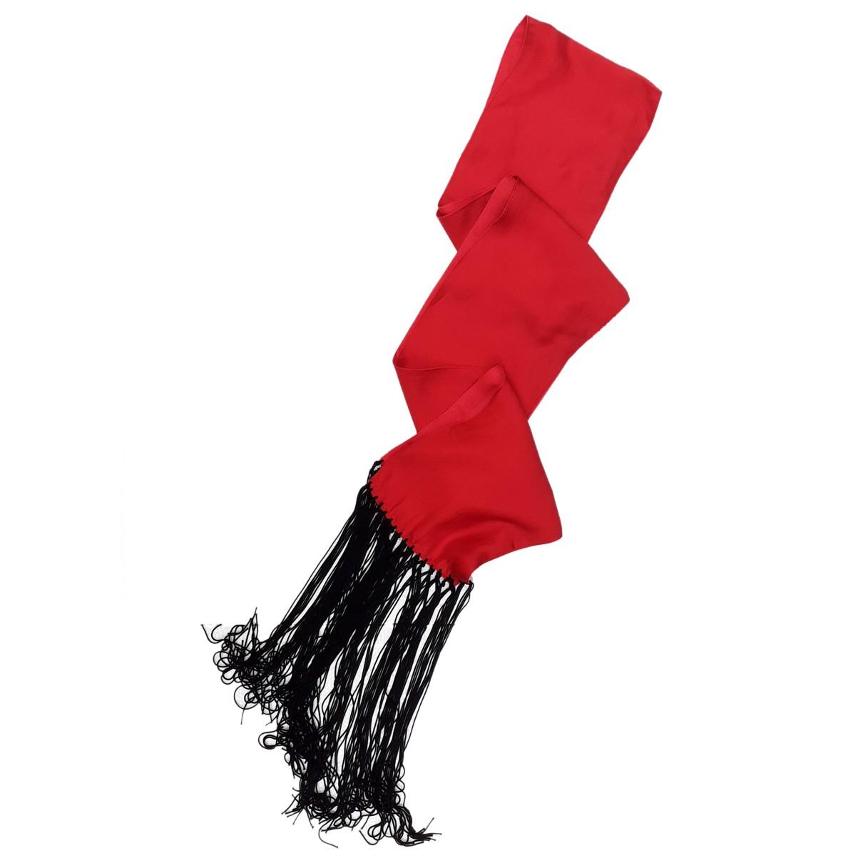 Calvin Klein \N Schal in  Rot Seide