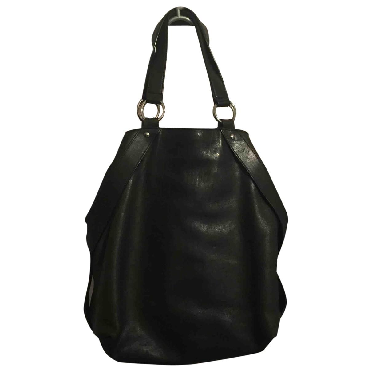 Yves Saint Laurent Tribute Black Leather handbag for Women \N
