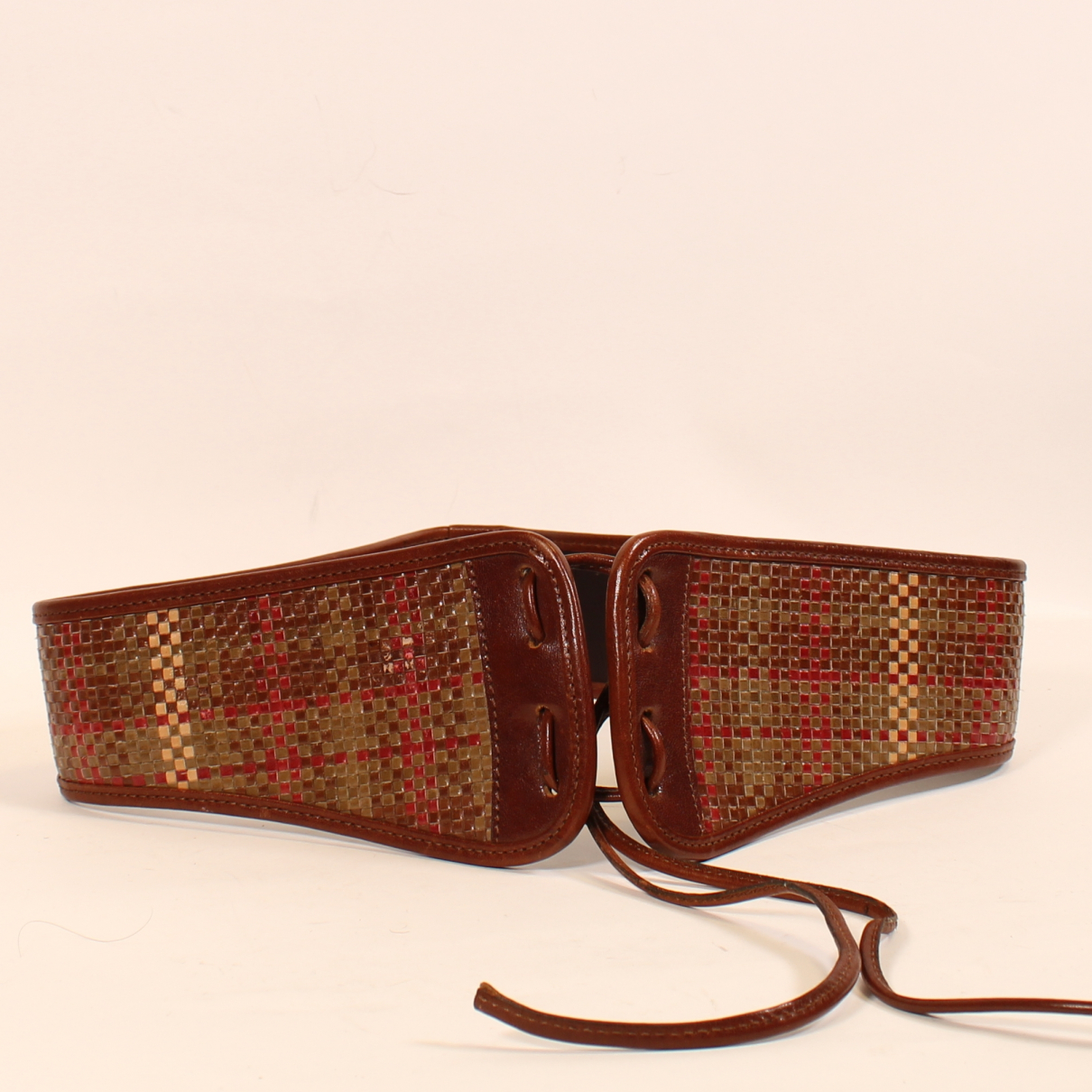 Mulberry N Brown Leather belt for Women 70 cm