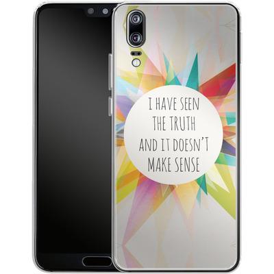 Huawei P20 Silikon Handyhuelle - Truth von Mareike Bohmer
