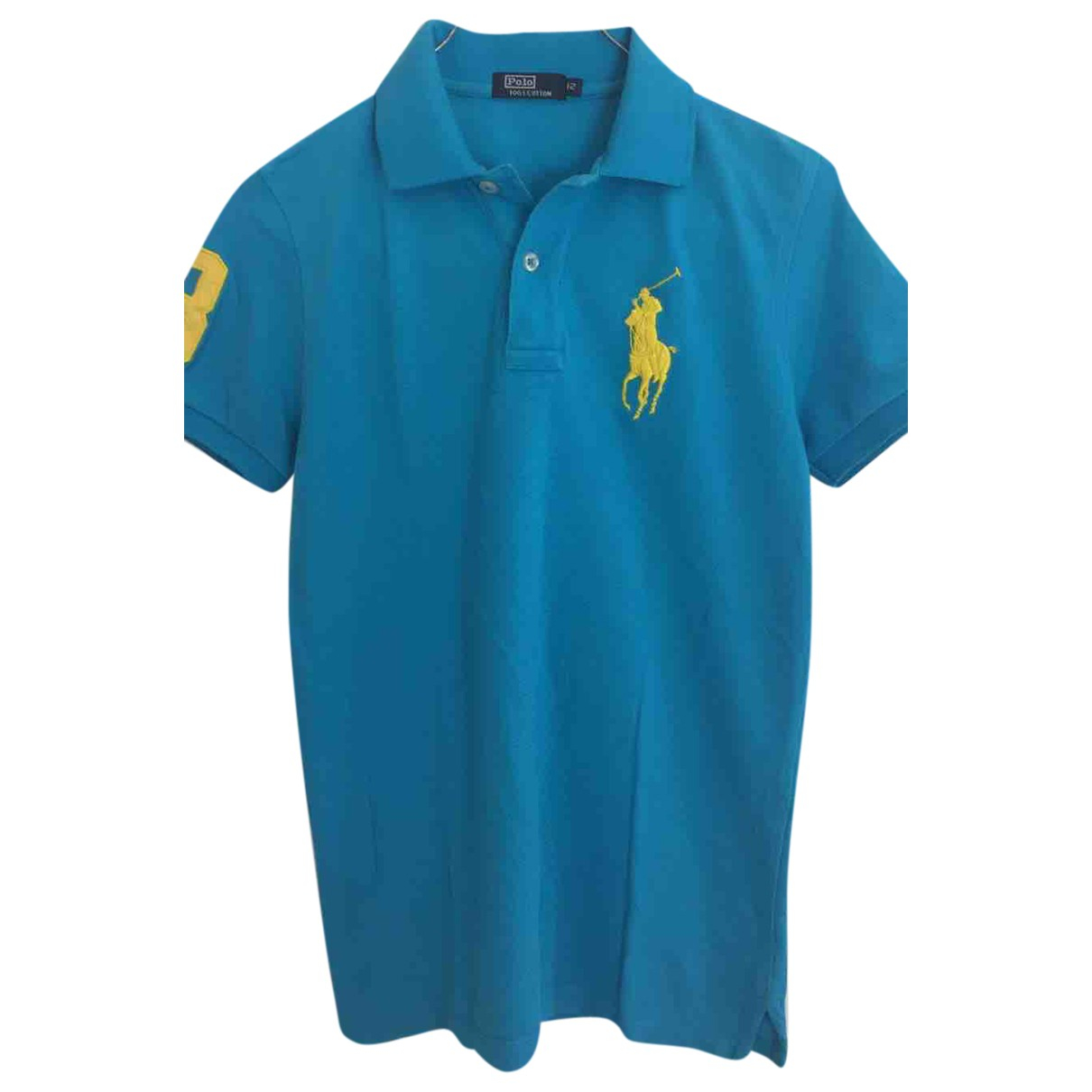 Polo Ralph Lauren \N Turquoise Cotton  top for Women 40 IT