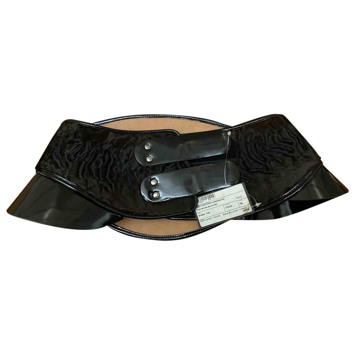 Fendi \N Brown Exotic leathers belt for Women 75 cm