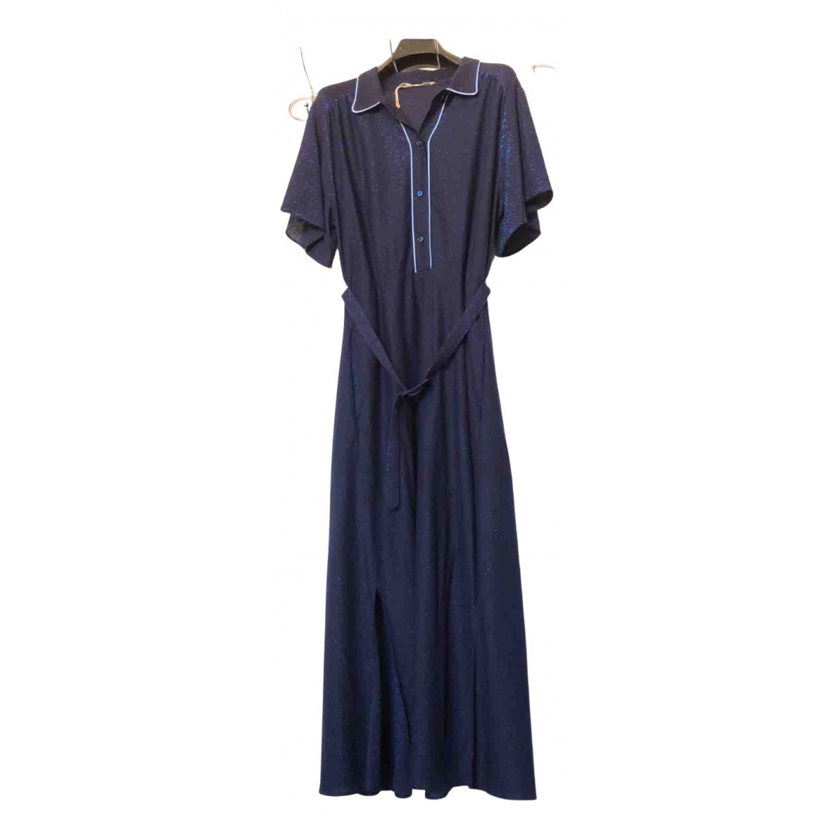 Golden Goose \N Kleid in  Blau Polyester