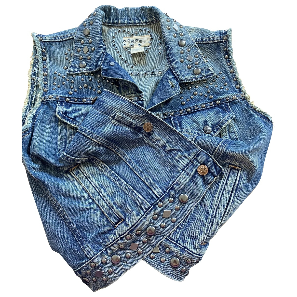 Ralph Lauren Denim & Supply - Veste   pour femme en denim - bleu