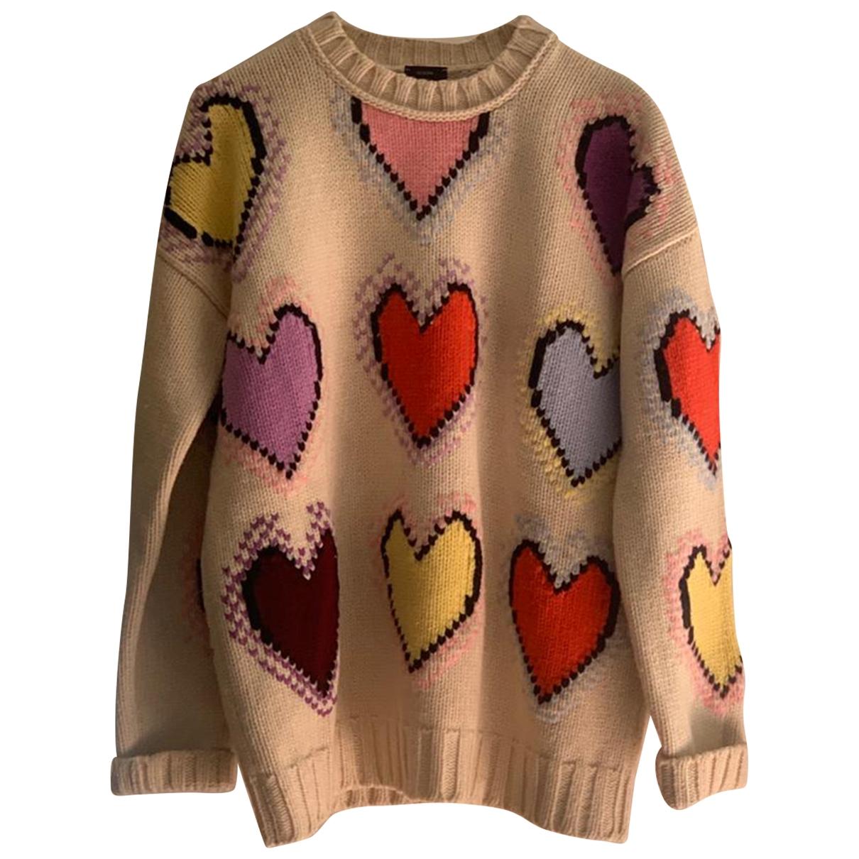 Joseph - Pull   pour femme en laine - multicolore