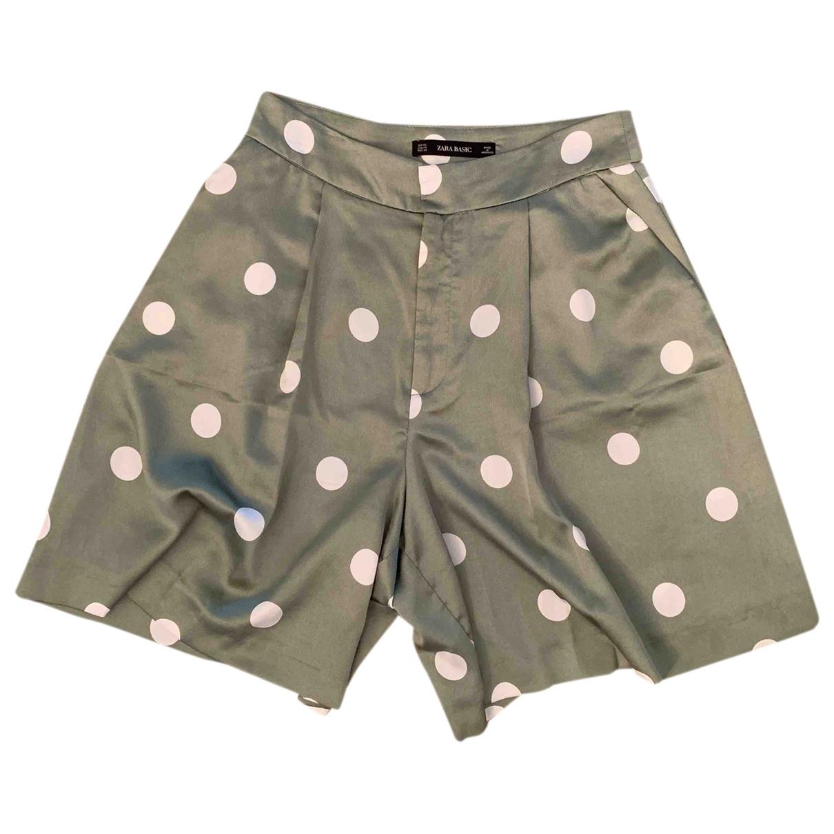 Zara \N Green Shorts for Women XS International
