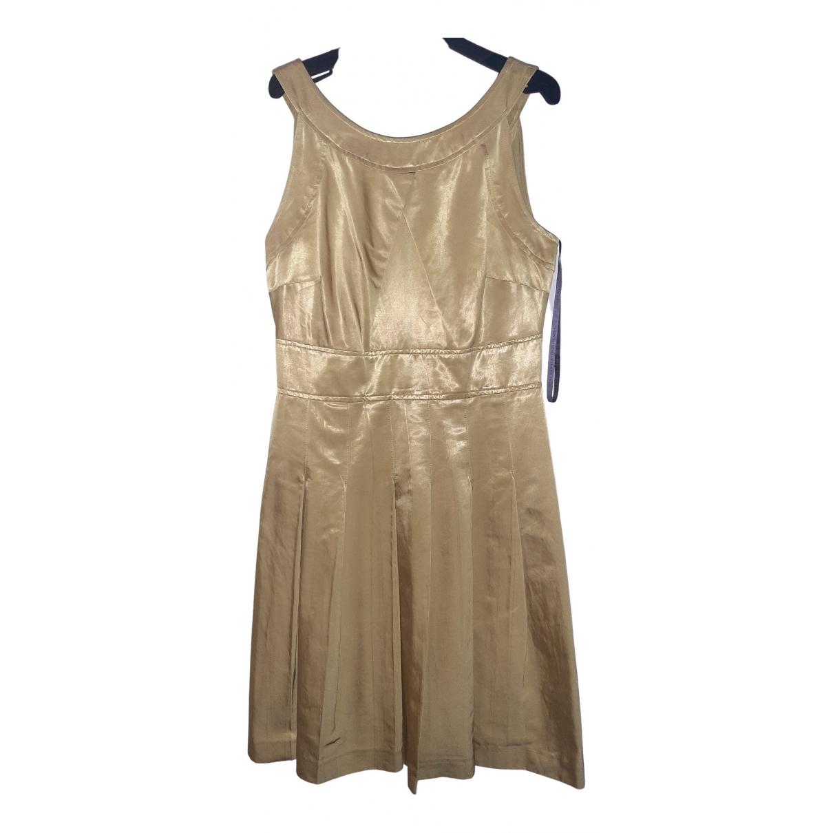 Vera Wang \N Kleid in  Gelb Polyester