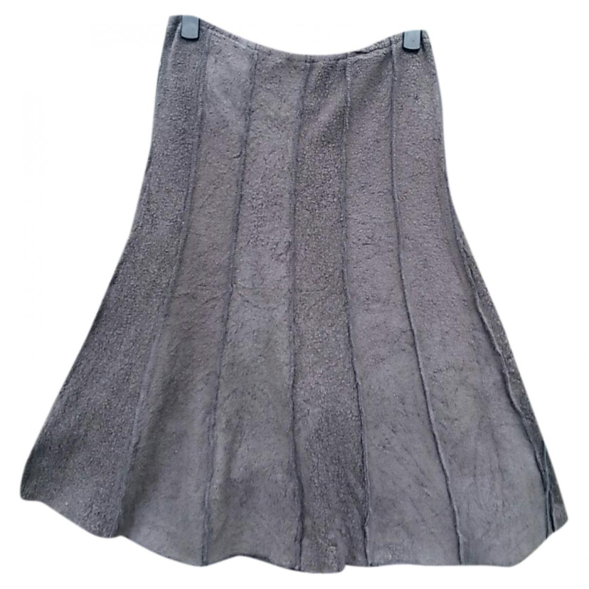 Picasso - Jupe   pour femme en coton - gris