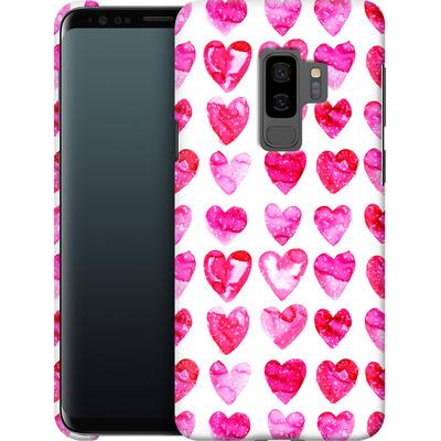 Samsung Galaxy S9 Plus Smartphone Huelle - Heart Speckle von Amy Sia