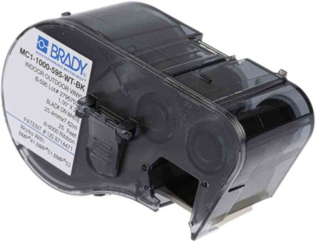 Brady Cable Label Labelling Cartridge, For Use With BMP41 Label Printer, BMP51 Label Printer, BMP53 Label Printer