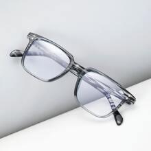 Men Two Tone Frame Eyeglasses
