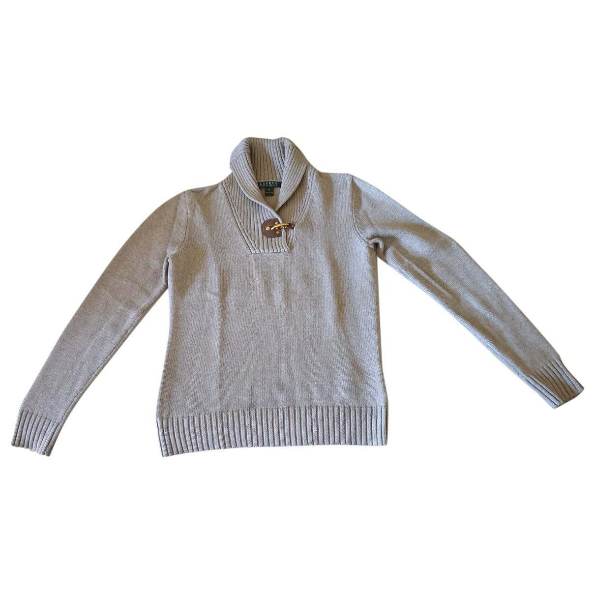 Lauren Ralph Lauren \N Ecru Cotton Knitwear for Women XS International