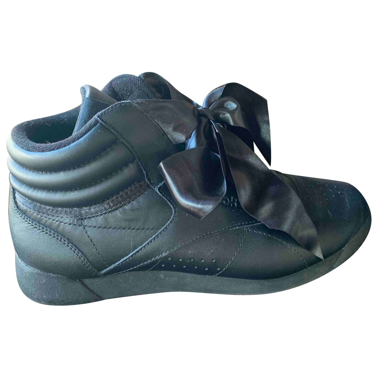Reebok \N Black Leather Sandals for Women 39 EU