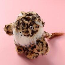 1pc Plush Tiger Cat Toy