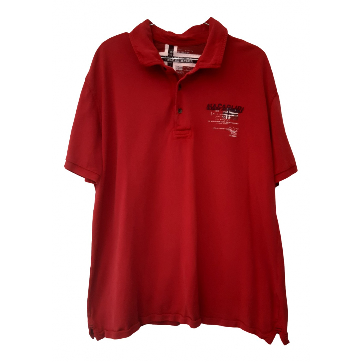 Napapijri \N Poloshirts in  Rot Baumwolle