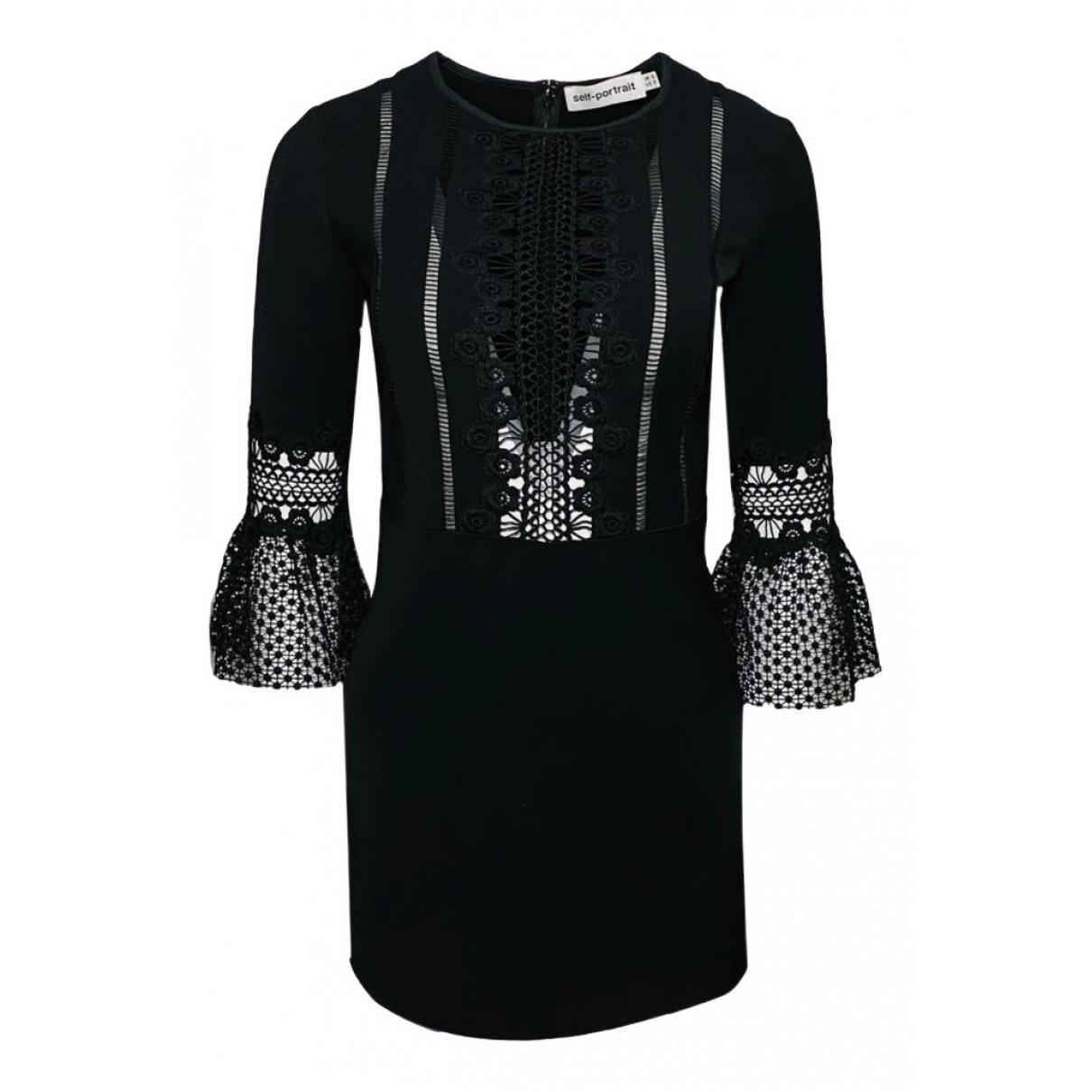 Self Portrait \N Black dress for Women 6 UK